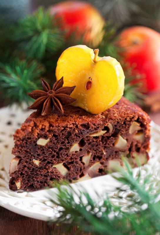 Chocolate apple cake1