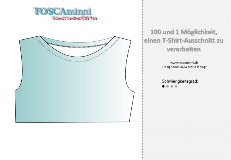 Verarbeitung Shirt Ausschnitt