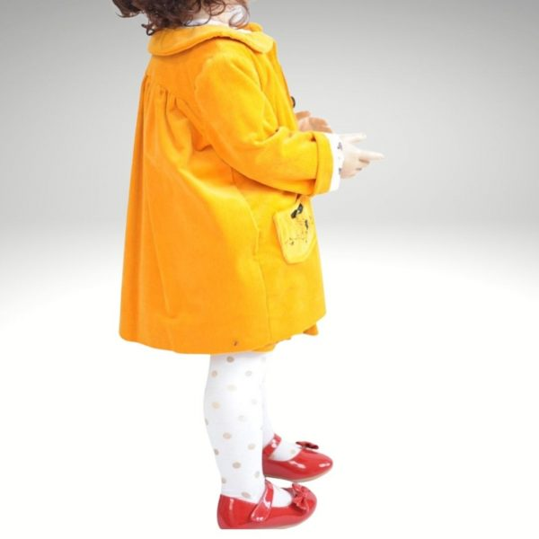 Schnittmuster Kindermantel mit Bubikragen