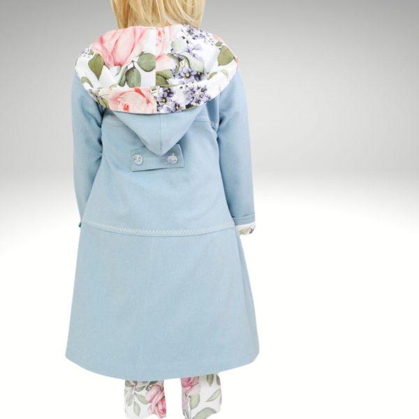 Schnittmuster für Kinder Mantel