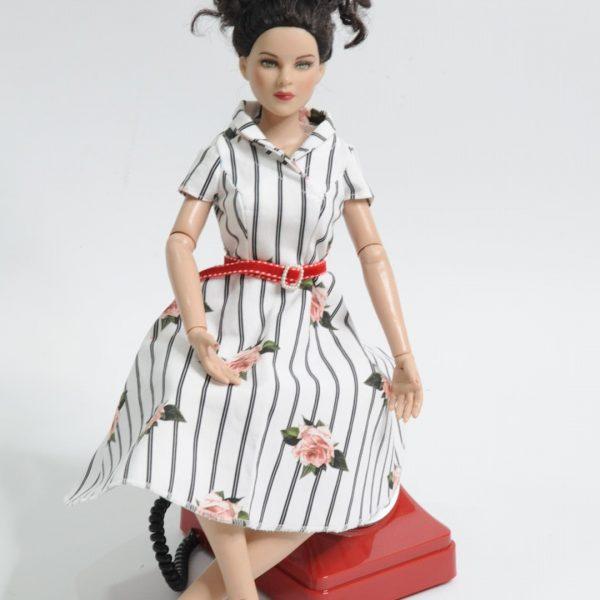 50er Jahre Kleid nähen Schnittmuster