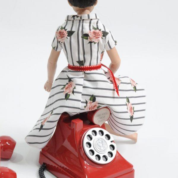Schnittmuster 50er Jahre Kleid Nähanleitung