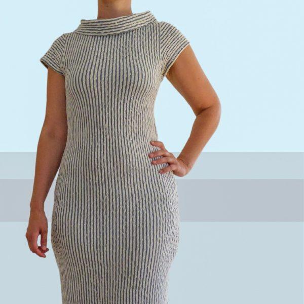 Schnittmuster Kleid figurbetont
