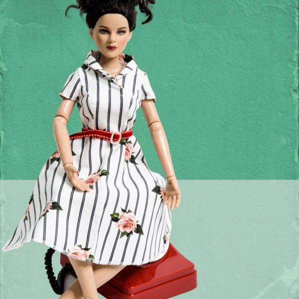 Schnittmuster Vintagekleid Damen
