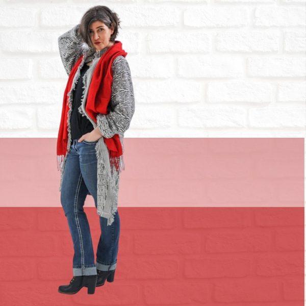 Schnittmuster Mantel Damen einfach
