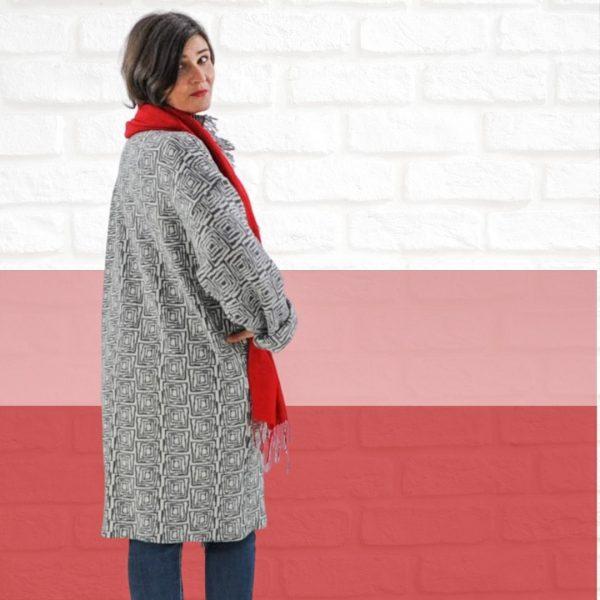 schnittmuster oversize mantel
