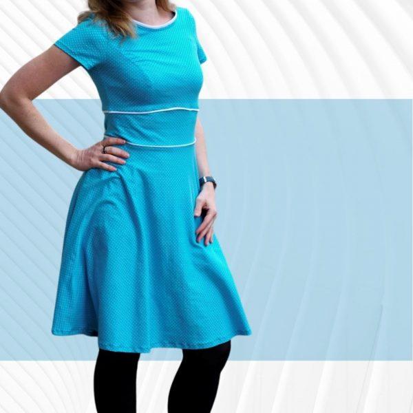 Nähanleitung Kleid Jersey