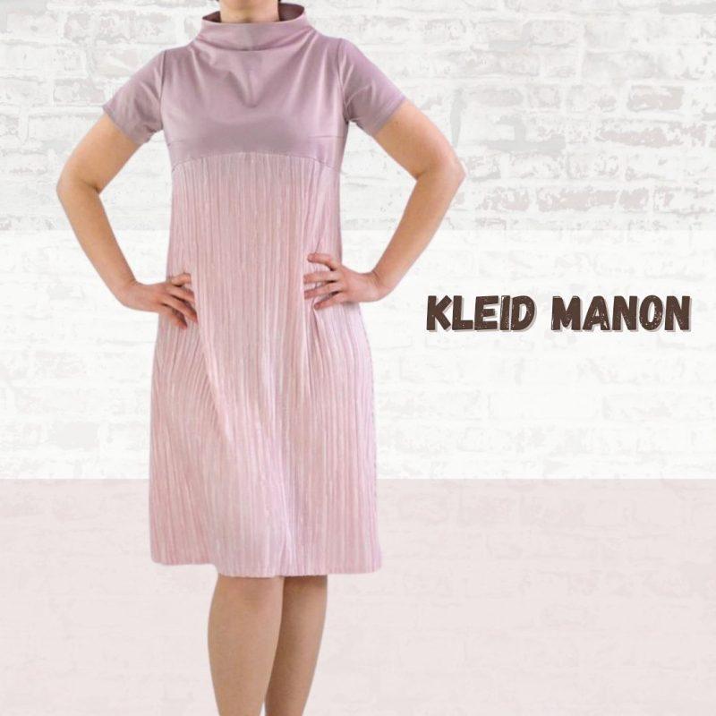 Schnittmuster A-Linien-Kleid Kurzarm