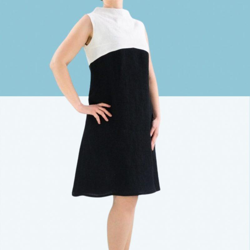 Schnittmuster Kleid A-Linie