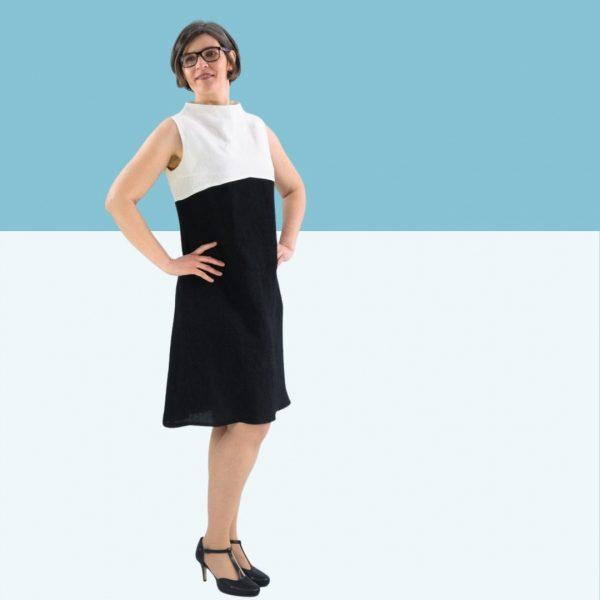 Schnittmuster Kleid Damen A-Linie