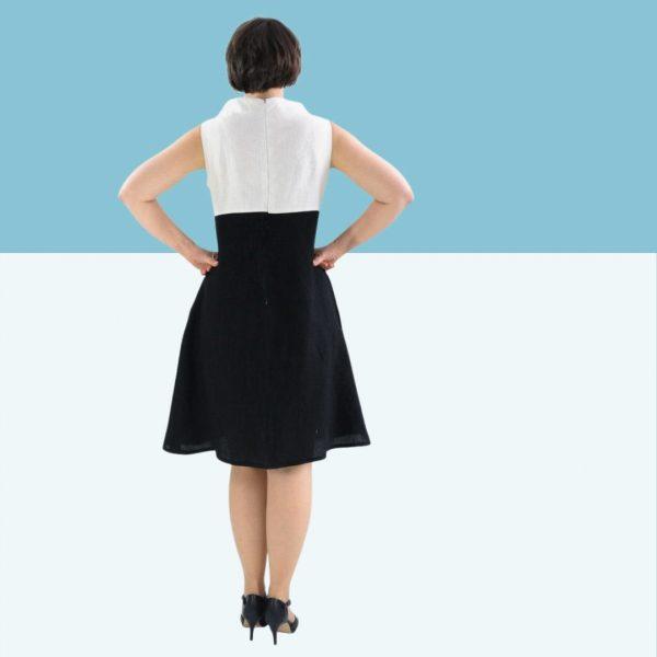 Schnittmuster Kleid Webware