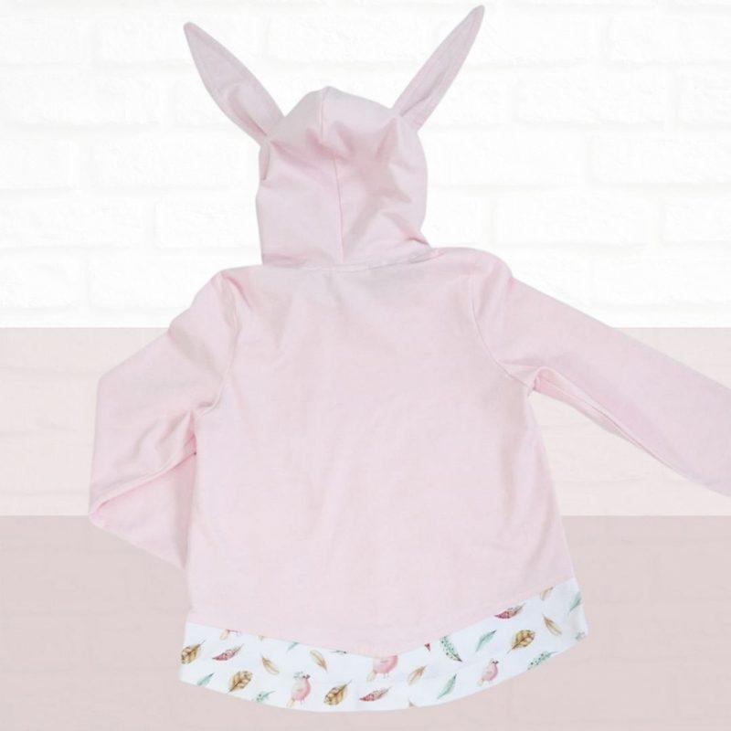 schnittmuster hoodie mit hasen ohren