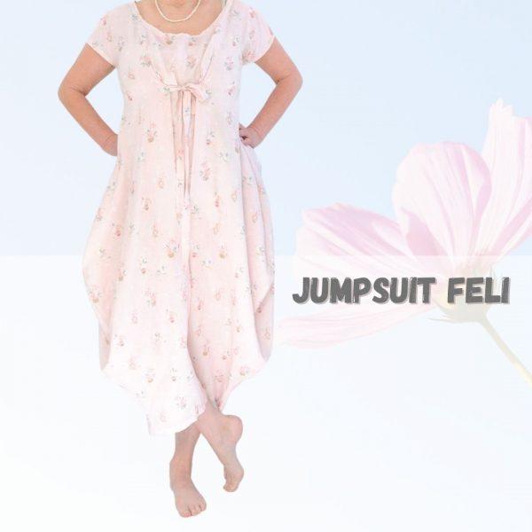 Schnittmuster Jumpsuit Damen
