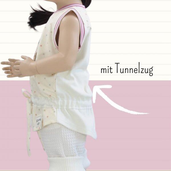 Schnittmuster Shirt mit Tunnelzug